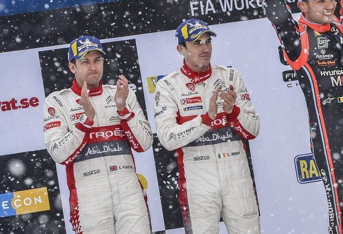WRC Svezia 2018: progressi concreti per il team Citroën. - Foto 6 di 8