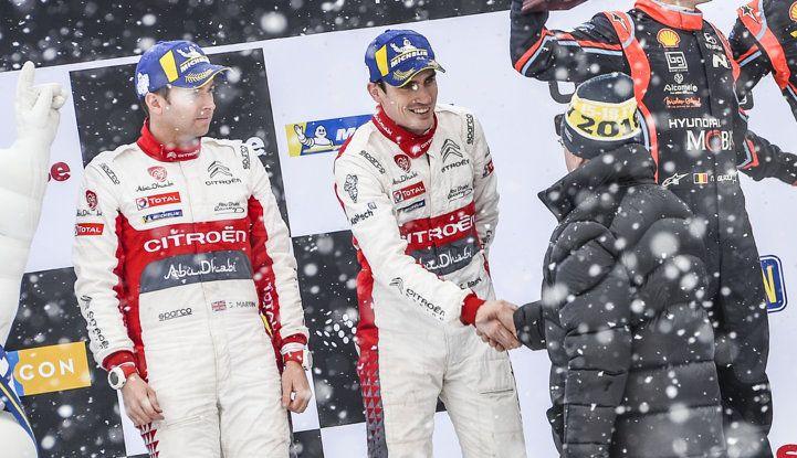 WRC Svezia 2018: progressi concreti per il team Citroën. - Foto 7 di 8