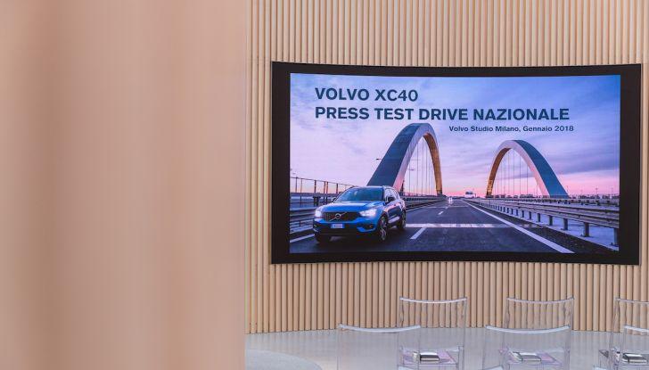 Volvo XC40 2018, prova su strada del SUV compatto svedese - Foto 4 di 51
