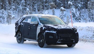 Hyundai Tucson Restyling 2019, primi collaudi su strada