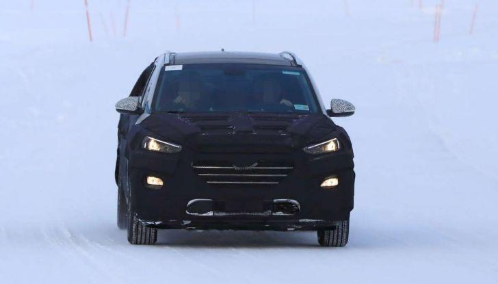 Hyundai Tucson Restyling 2019, primi collaudi su strada - Foto 6 di 15