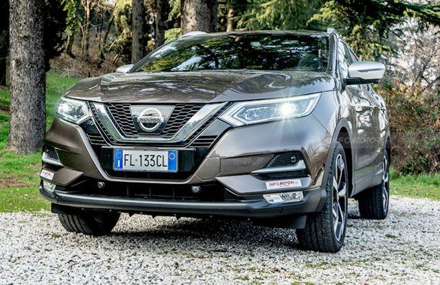 Nissan Qashqai Test drive