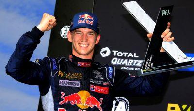 Timmy Hansen, pilota del Team Peugeot Total vede positivamente il WRX 2018
