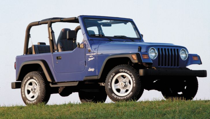 Jeep Wrangler, storia di un mito del fuoristrada - Foto 3 di 17