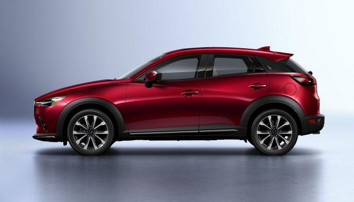 Mazda CX-3 2018, restyling d'autore per il Kodo Crossover - Foto 3 di 17