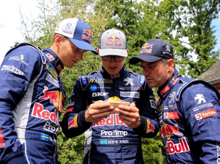 Il giovane Kevin Hansen (pilota Team Peugeot Total nel WRX) vuole esperienza - Foto 1 di 1