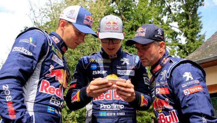 Il giovane Kevin Hansen (pilota Team Peugeot Total nel WRX) vuole esperienza - Foto  di