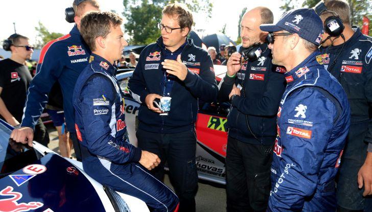 Le aspettative di Sebastien Loeb sul Rallycross 2018 con Peugeot - Foto  di