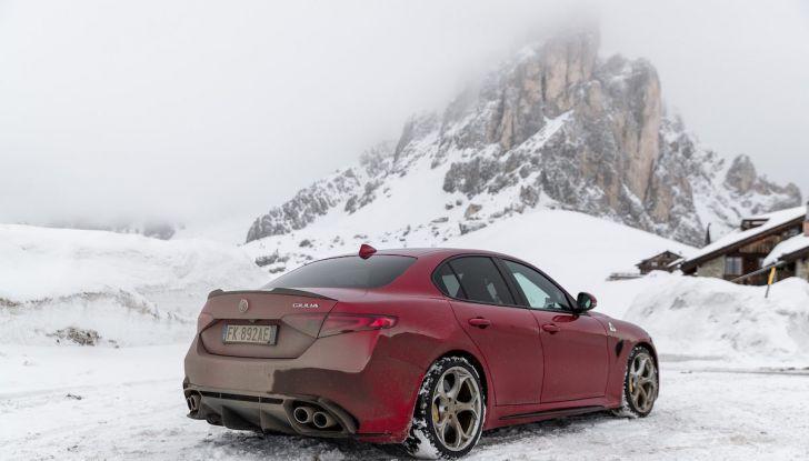 Prova su strada Alfa Romeo Giulia Quadrifoglio, la macchina perfetta! - Foto 29 di 48