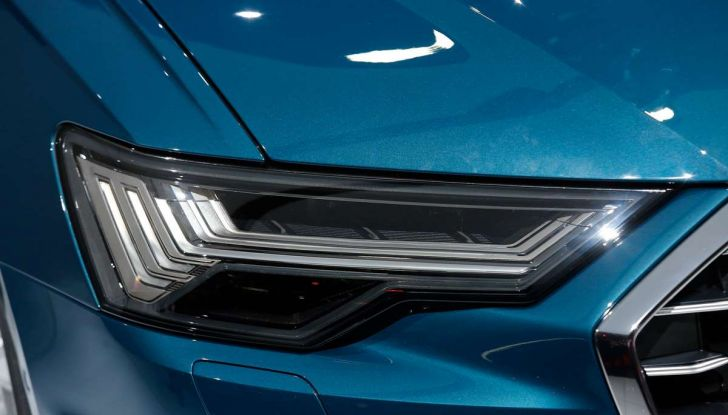 Audi A6 2018 berlina: tecnologia e stile a Quattro Anelli - Foto 13 di 13