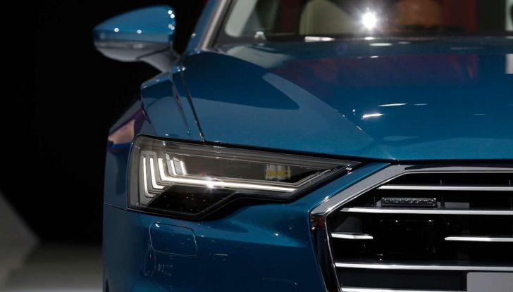 Audi A6 2018 berlina: tecnologia e stile a Quattro Anelli - Foto 4 di 13