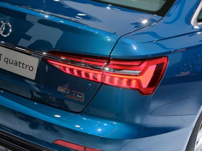 Audi A6 2018 berlina: tecnologia e stile a Quattro Anelli - Foto 8 di 13