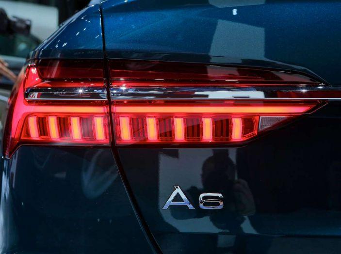 Audi A6 2018 berlina: tecnologia e stile a Quattro Anelli - Foto 10 di 13