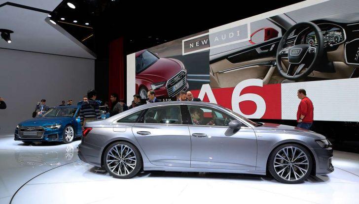 Audi A6 2018 berlina: tecnologia e stile a Quattro Anelli - Foto 11 di 13