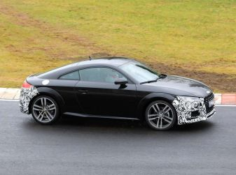 Audi TT Coupè 2018, restyling di metà carriera