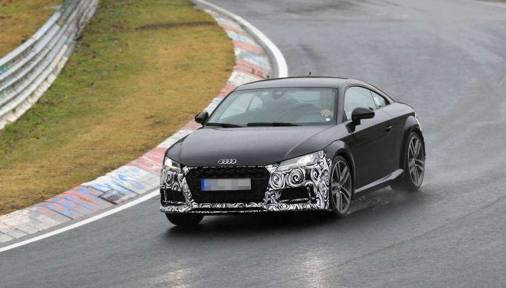 Audi TT Coupè 2018, restyling di metà carriera - Foto 3 di 21