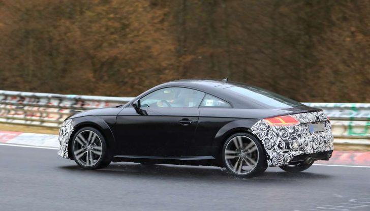 Audi TT Coupè 2018, restyling di metà carriera - Foto 14 di 21