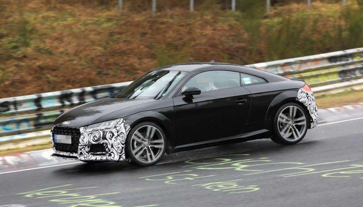 Audi TT Coupè 2018, restyling di metà carriera - Foto 5 di 21