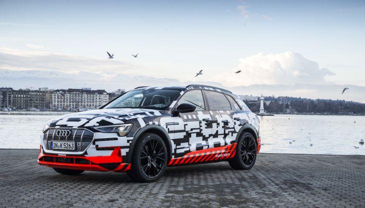 Audi e-tron, il SUV elettrico si prenota online - Foto 1 di 31
