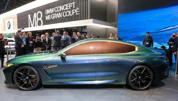 BMW M8 Concept Gran Coupé - Foto 4 di 29