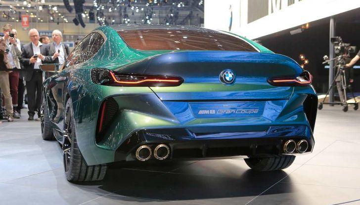BMW M8 Concept Gran Coupé - Foto 11 di 29