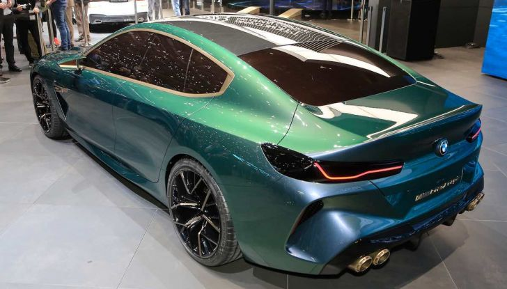 BMW M8 Concept Gran Coupé - Foto 12 di 29