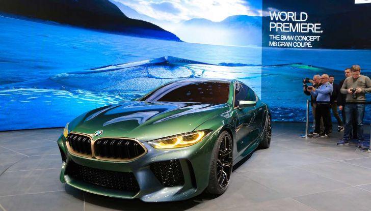 BMW M8 Concept Gran Coupé - Foto 13 di 29
