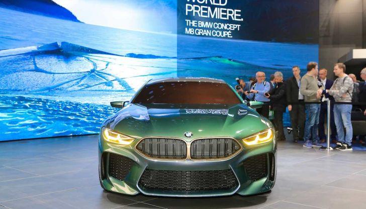 BMW M8 Concept Gran Coupé - Foto 14 di 29