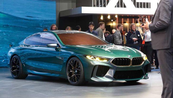 BMW M8 Concept Gran Coupé - Foto 16 di 29