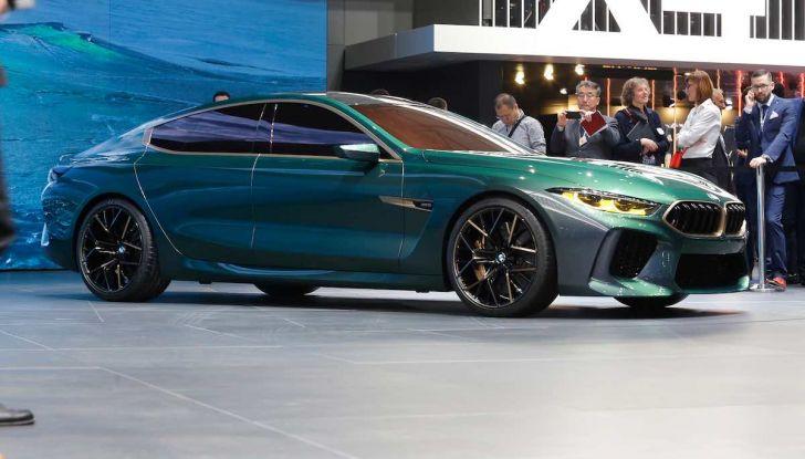 BMW M8 Concept Gran Coupé - Foto 17 di 29