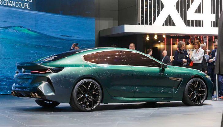 BMW M8 Concept Gran Coupé - Foto 18 di 29