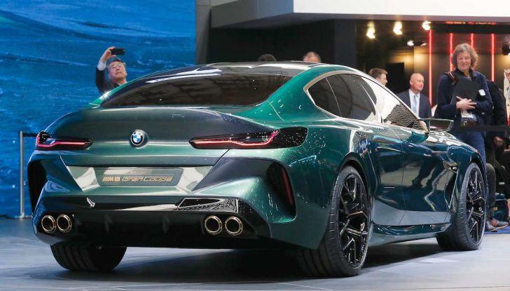BMW M8 Concept Gran Coupé - Foto 20 di 29
