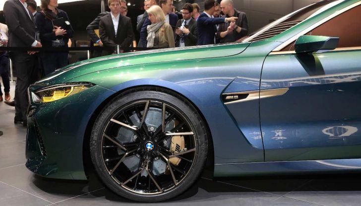 BMW M8 Concept Gran Coupé - Foto 5 di 29