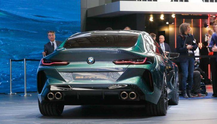 BMW M8 Concept Gran Coupé - Foto 21 di 29
