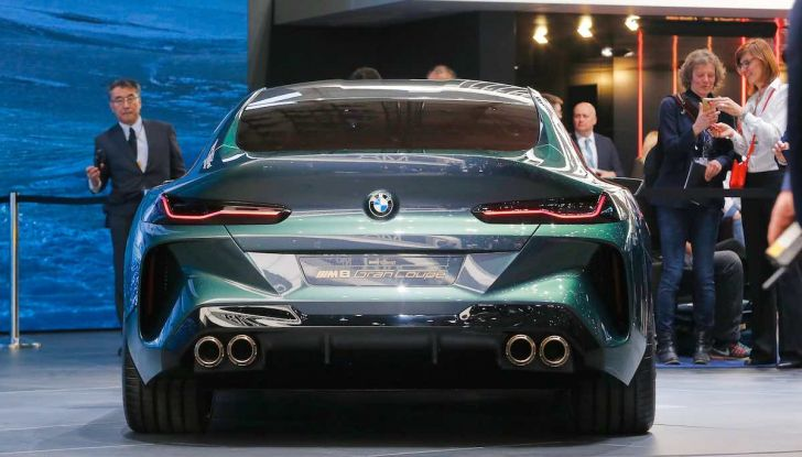 BMW M8 Concept Gran Coupé - Foto 22 di 29
