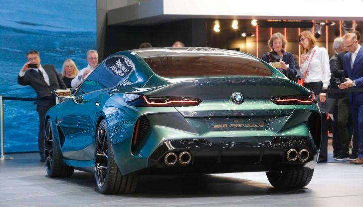 BMW M8 Concept Gran Coupé - Foto 23 di 29