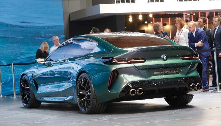 BMW M8 Concept Gran Coupé - Foto 24 di 29