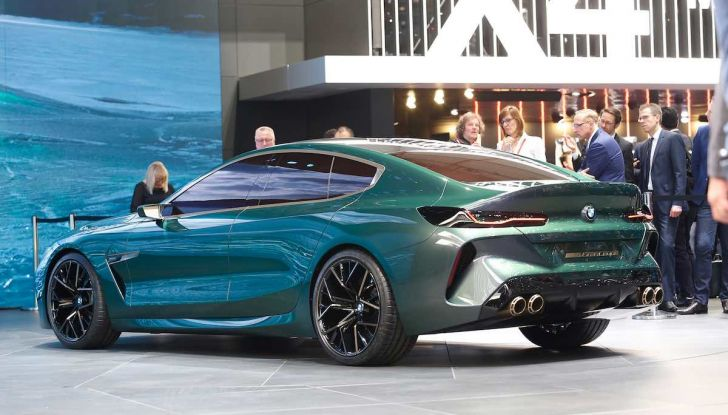 BMW M8 Concept Gran Coupé - Foto 25 di 29