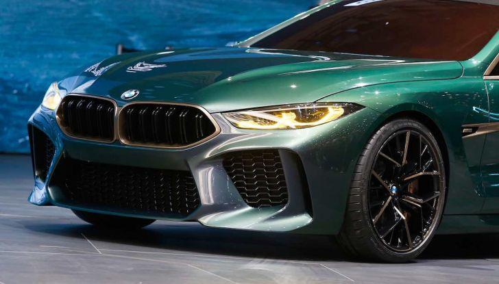 BMW M8 Concept Gran Coupé - Foto 28 di 29