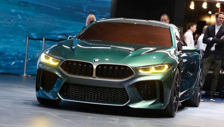 BMW M8 Concept Gran Coupé - Foto 29 di 29