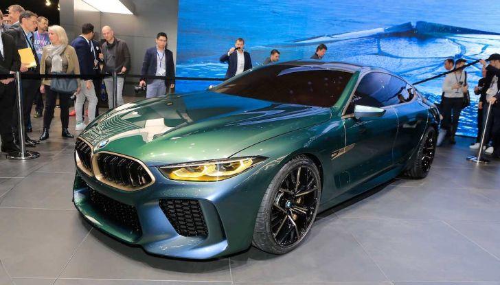 BMW M8 Concept Gran Coupé - Foto 6 di 29