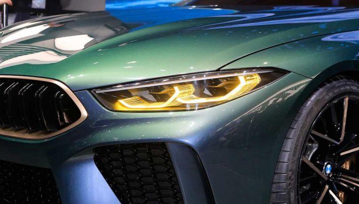 BMW M8 Concept Gran Coupé - Foto 8 di 29