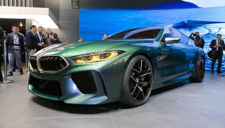 BMW M8 Concept Gran Coupé - Foto 3 di 29