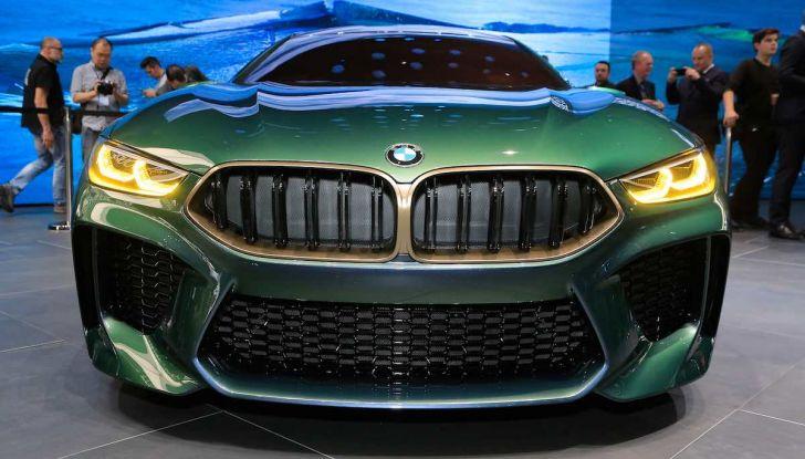 BMW M8 Concept Gran Coupé - Foto 9 di 29