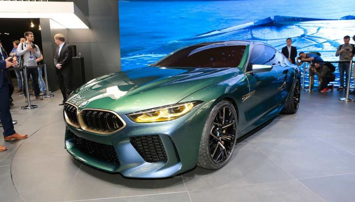 BMW M8 Concept Gran Coupé - Foto 2 di 29