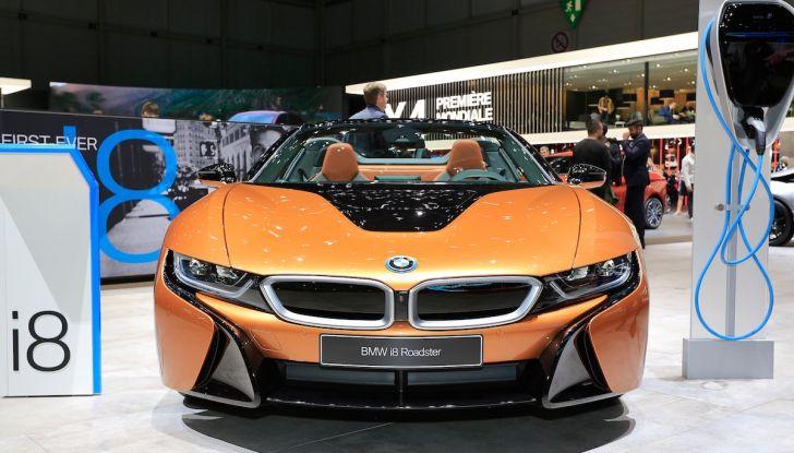 BMW i8 Roadster 2018: Caratteristiche, prezzi e prestazioni - Foto 1 di 9