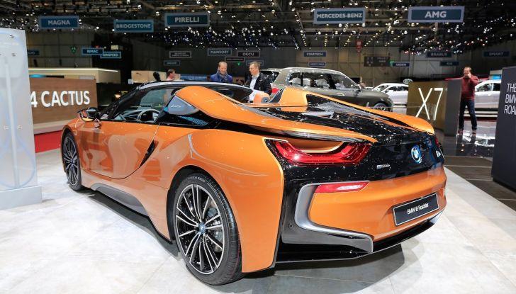 BMW i8 Roadster 2018: Caratteristiche, prezzi e prestazioni - Foto 6 di 9