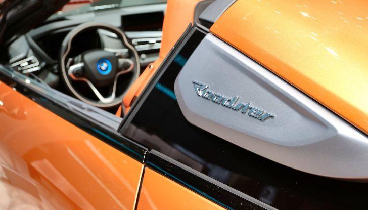 BMW i8 Roadster 2018: Caratteristiche, prezzi e prestazioni - Foto 7 di 9
