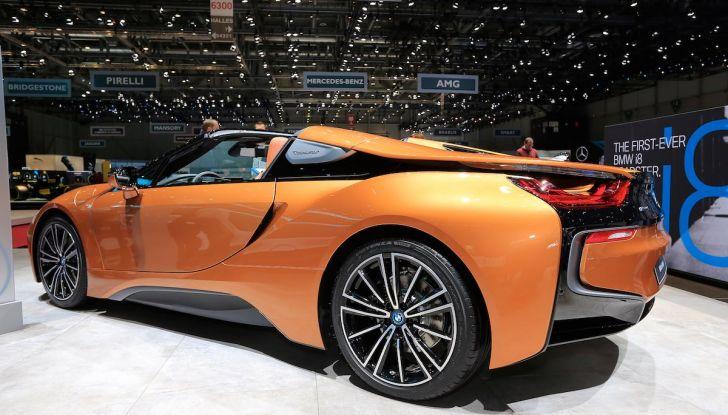 BMW i8 Roadster 2018: Caratteristiche, prezzi e prestazioni - Foto 9 di 9