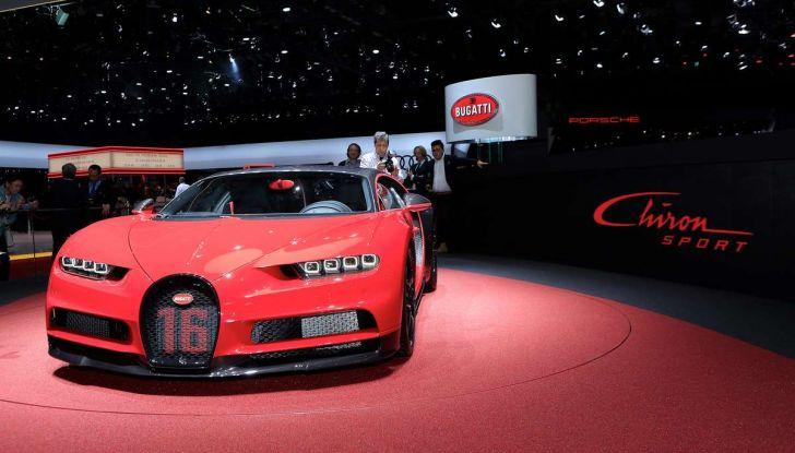 Bugatti Chiron Sport, la pista è il suo mestiere - Foto 4 di 20
